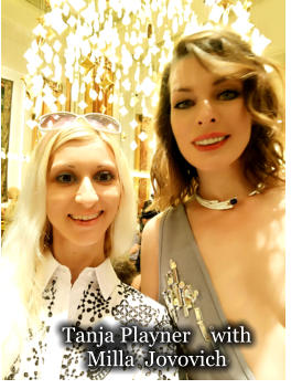 Tanja Playner    with  Milla  Jovovich